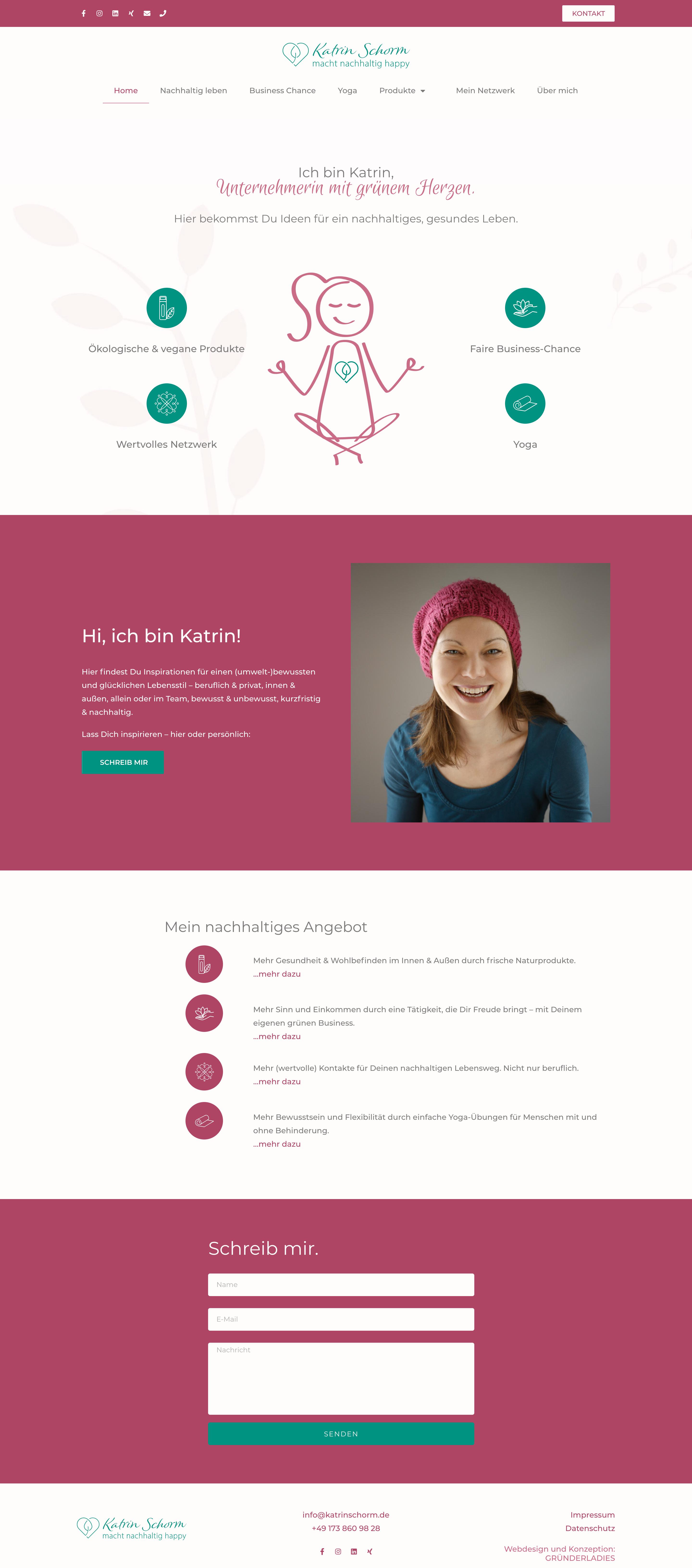 Webdesign für Frauen Gründerinnen Berlin GRÜNDERLADIES